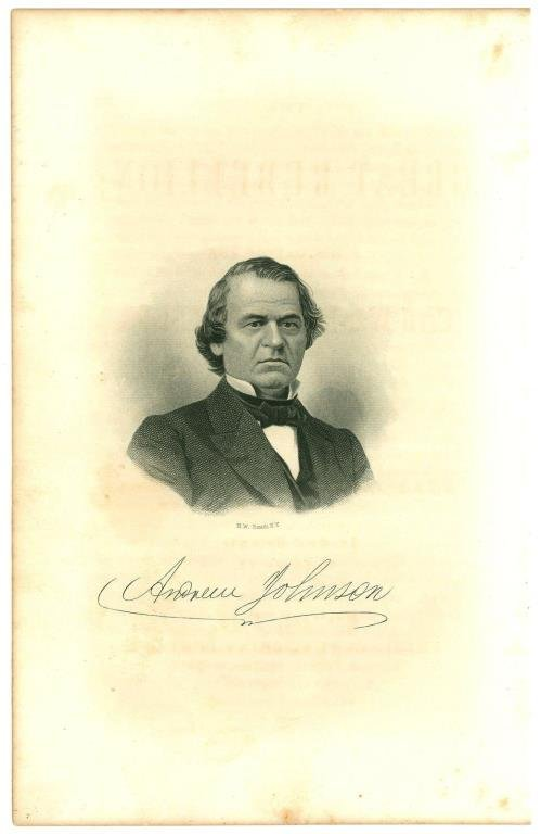 Andrew Johnson U.S. President Civil War General