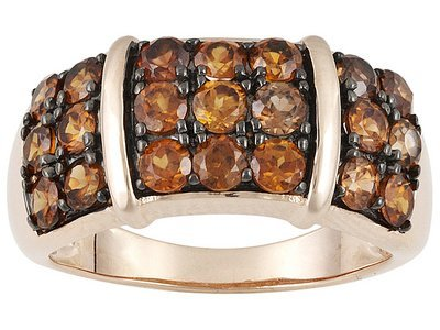 3.15ctw Round Imperial Zircon 18k  Gold Over Sterling