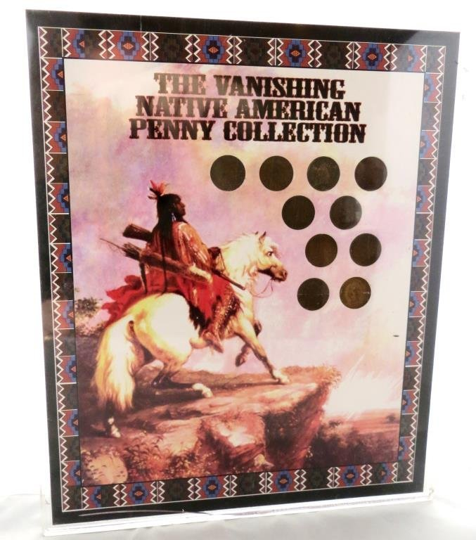 Native American Vanishing Penny Collection