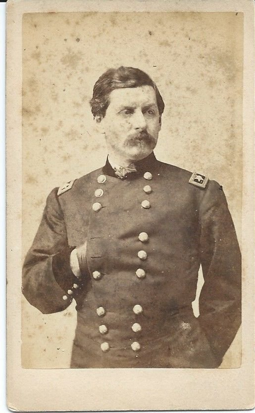Civil War CDV Union General George McClellan