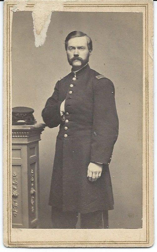 Civil War CDV Union Officer Connecticut