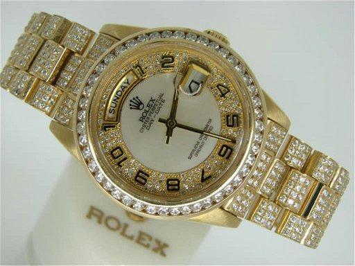 11 75 Cts Diamond Rolex President Watch 150k