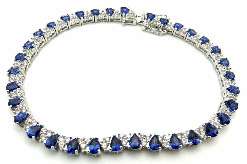 $15,120 Sapphire Bracelet