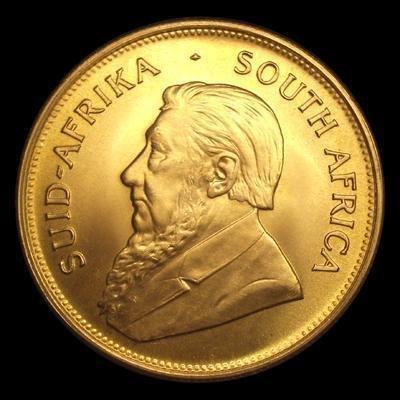 Gold 1 oz. Kruggerand 999.9 Pure
