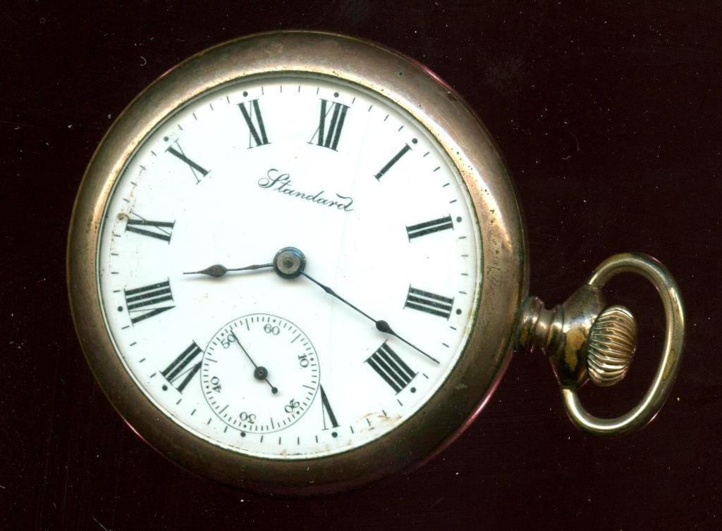 Standard Watch Co. Pocket Watch Working