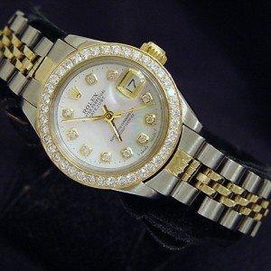 Ladies DateJust Rolex w/ Diamonds