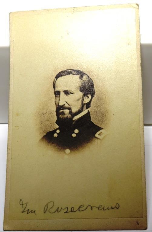 Civil War CDV ROSECRANS