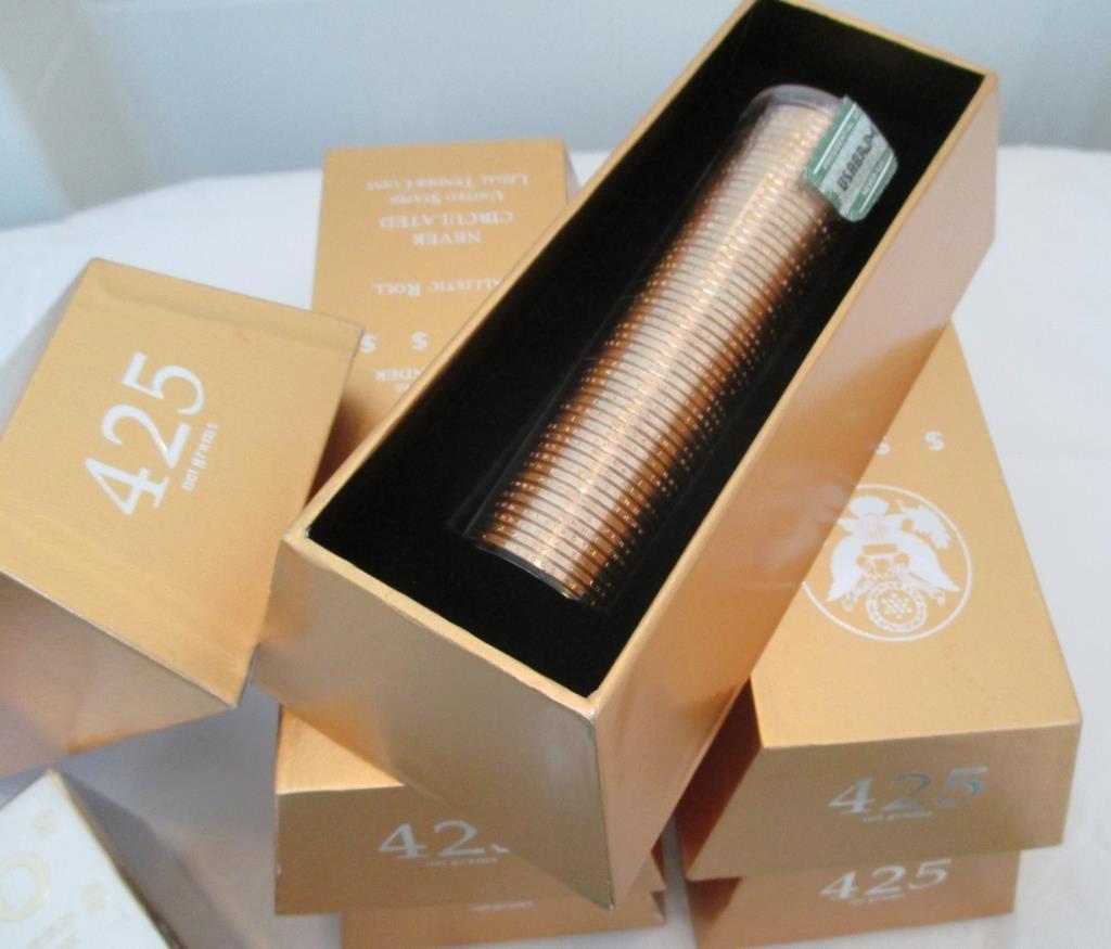 425 gram Presidential Dollar Bricks- MORE!