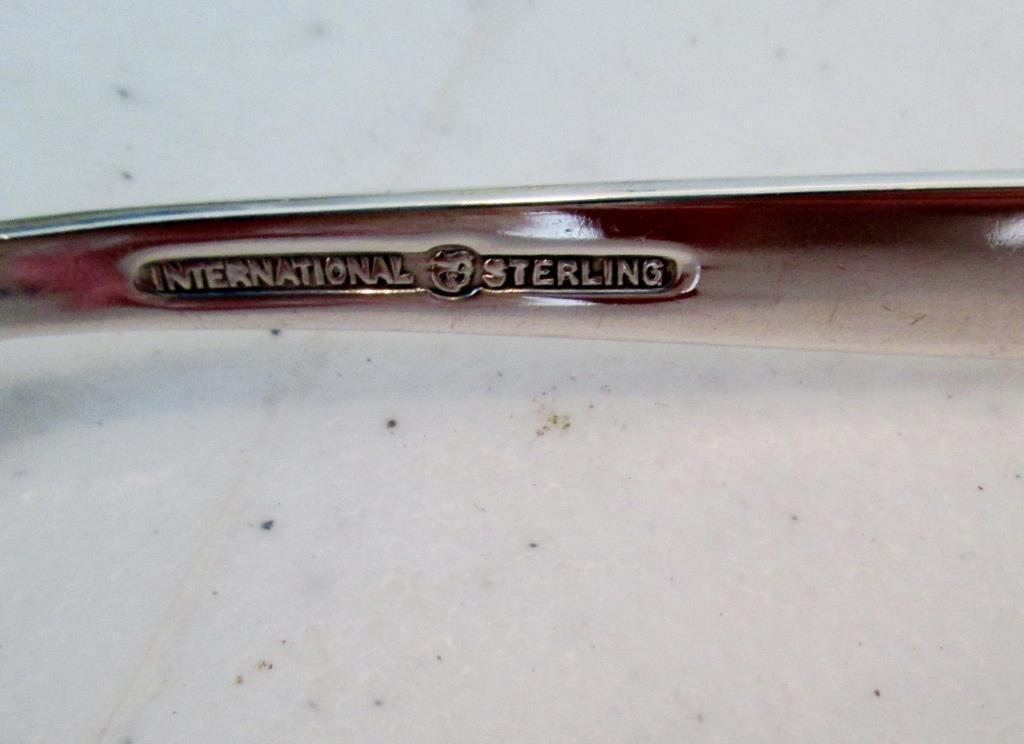 VALENCIA Pattern Sterling Flatware Set  58.29 oz.
