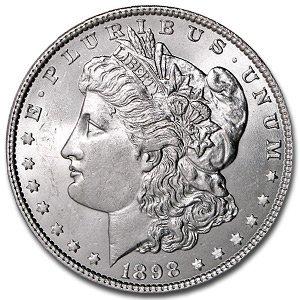 1898o pl Morgan Silver Dollar