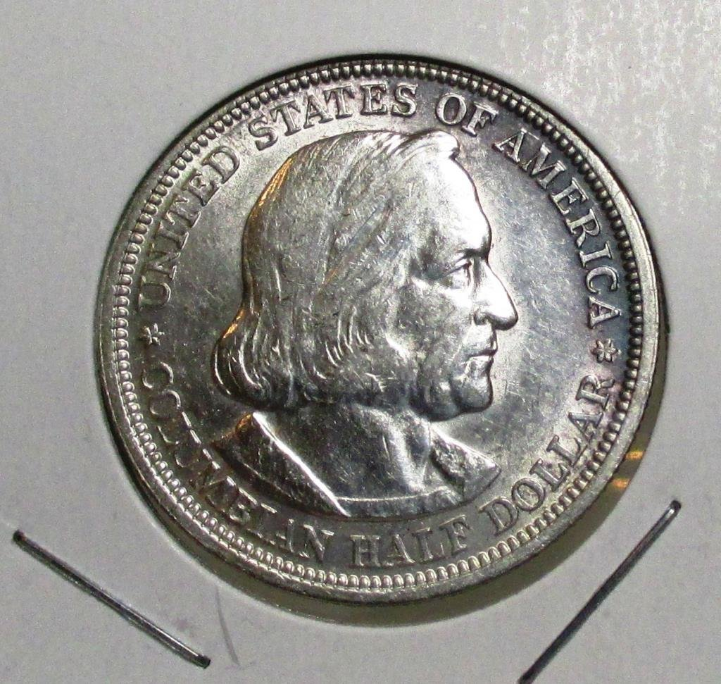 1893 Columbian Expo Half Dollar UNC Grade