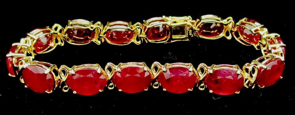 $7,200 Appraised Ruby Bracelet