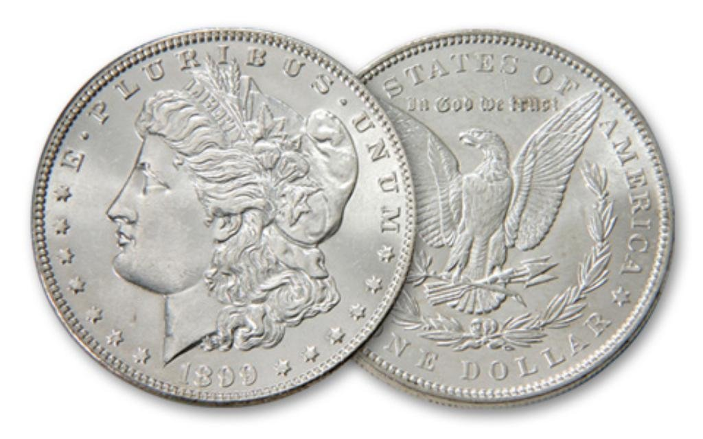 1899 P UNC Morgan Silver Dollar