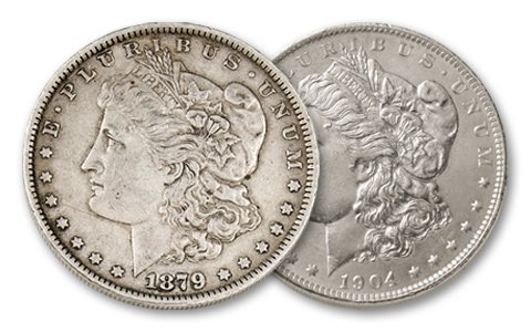First & Last New Orleans Morgan Silver Dollar