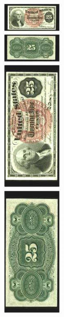 USA Fractional Currency 25 Cents 1863 Fourth Issue