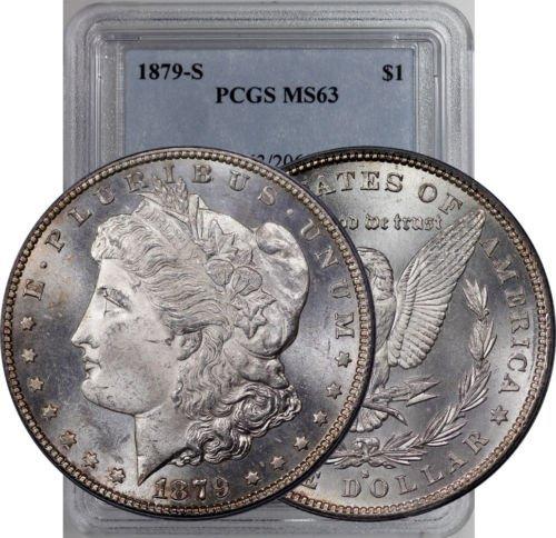 1879 s MS 63 Morgan Dollar PCGS