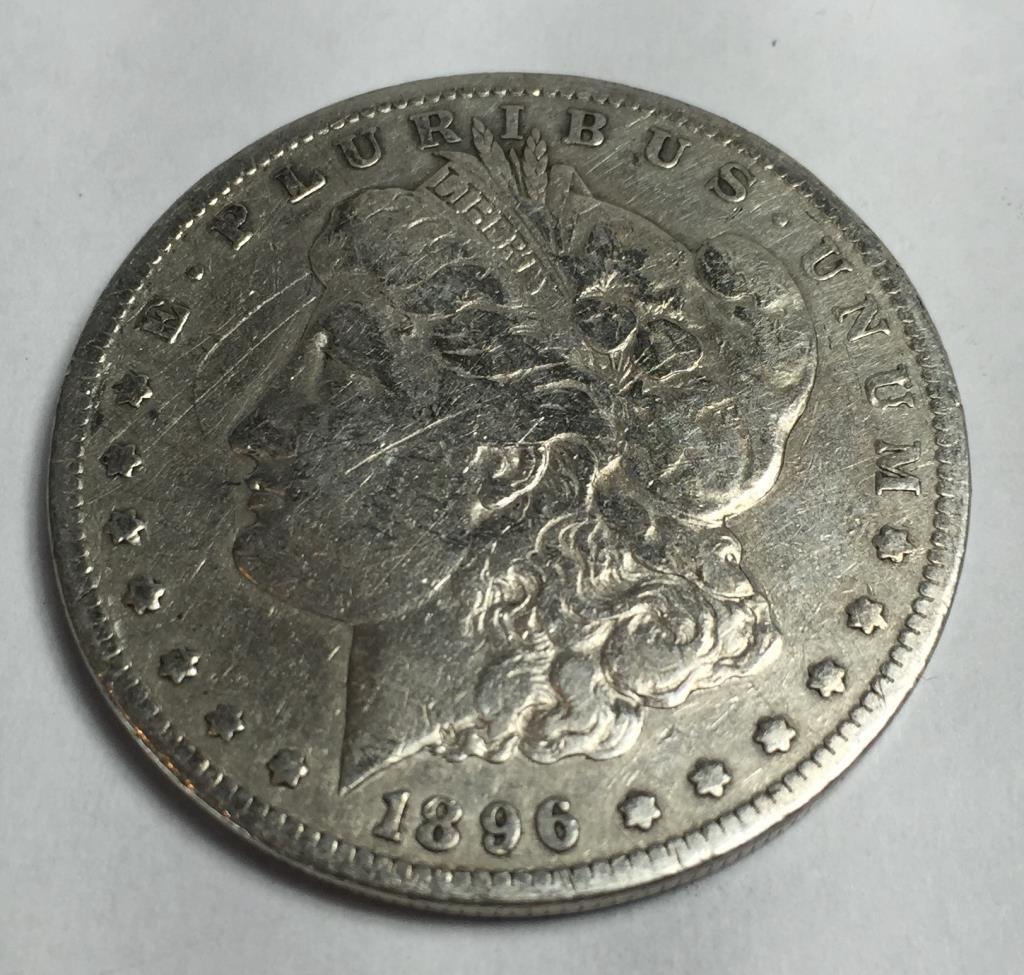 1896 s KEY DATE Morgan Dollar