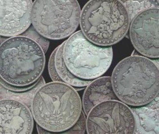 Lot of (100) Morgan Silver Dollars Mixed Dates