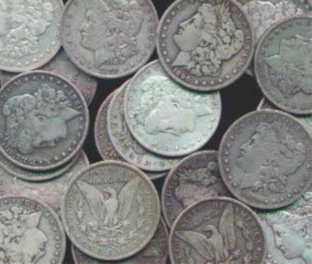 Lot of (100) Morgan Silver Dollars Mixed Dates