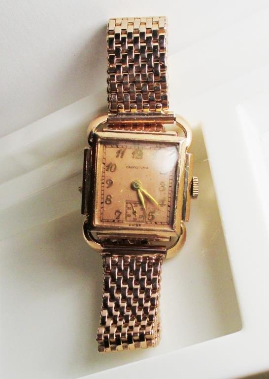 10 GF Rose 17 Jewel Longines Ladies Watch