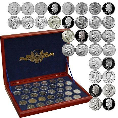 Complete IKE Dollar Set w/Proofs In case
