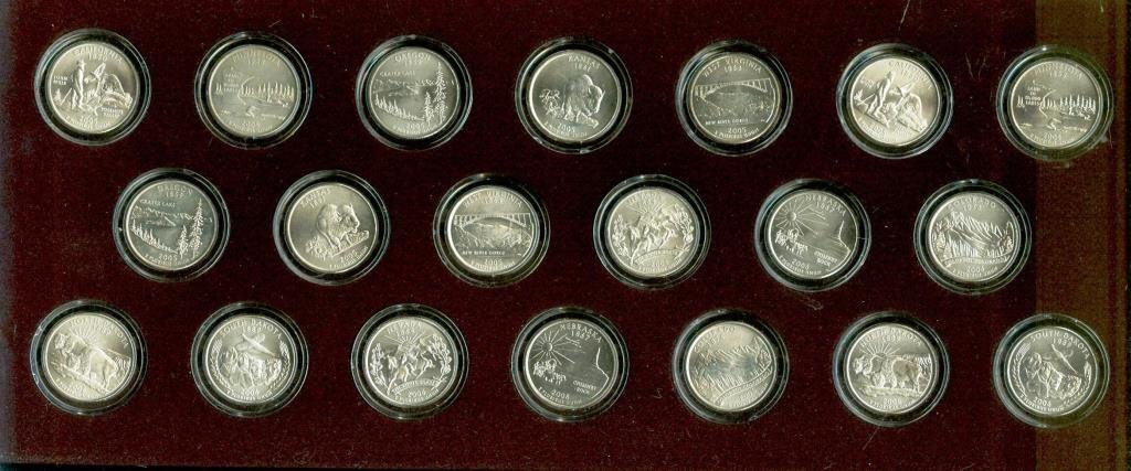 Lot of (20) State Quarters in Presentation Case