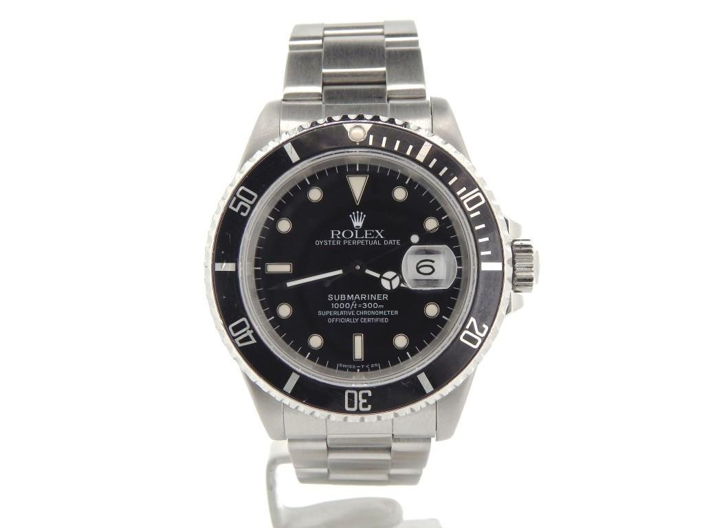 Mens Rolex Stainless Steel