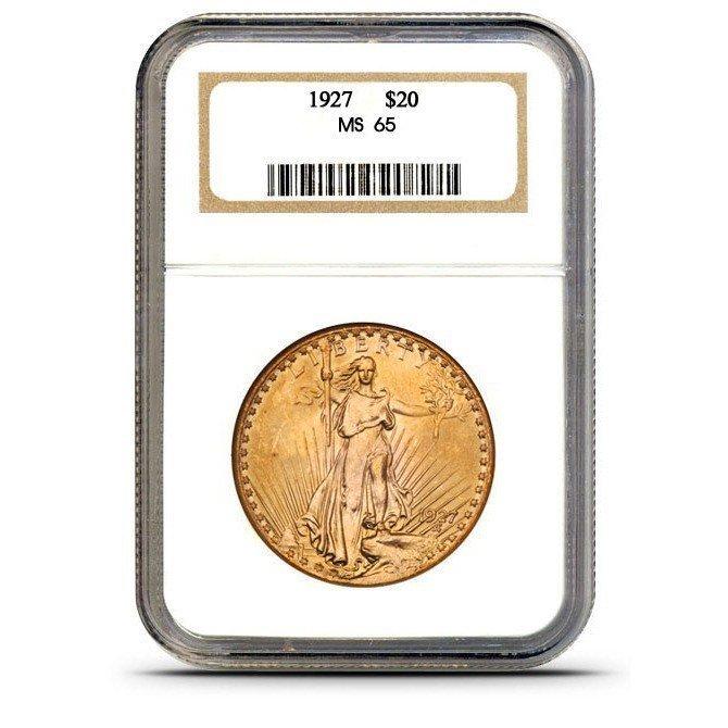 $20 Saint Gaudens NGC MS 65 1925 High Grade!