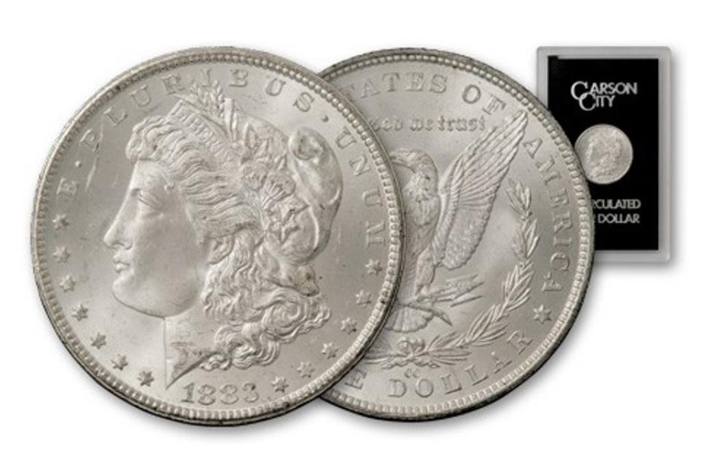1883 CC GSA Morgan Dollar