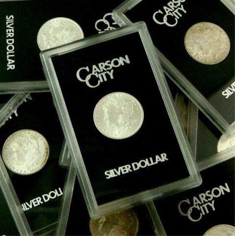 Lot of (10) Carson City GSA Morgans NO BOX