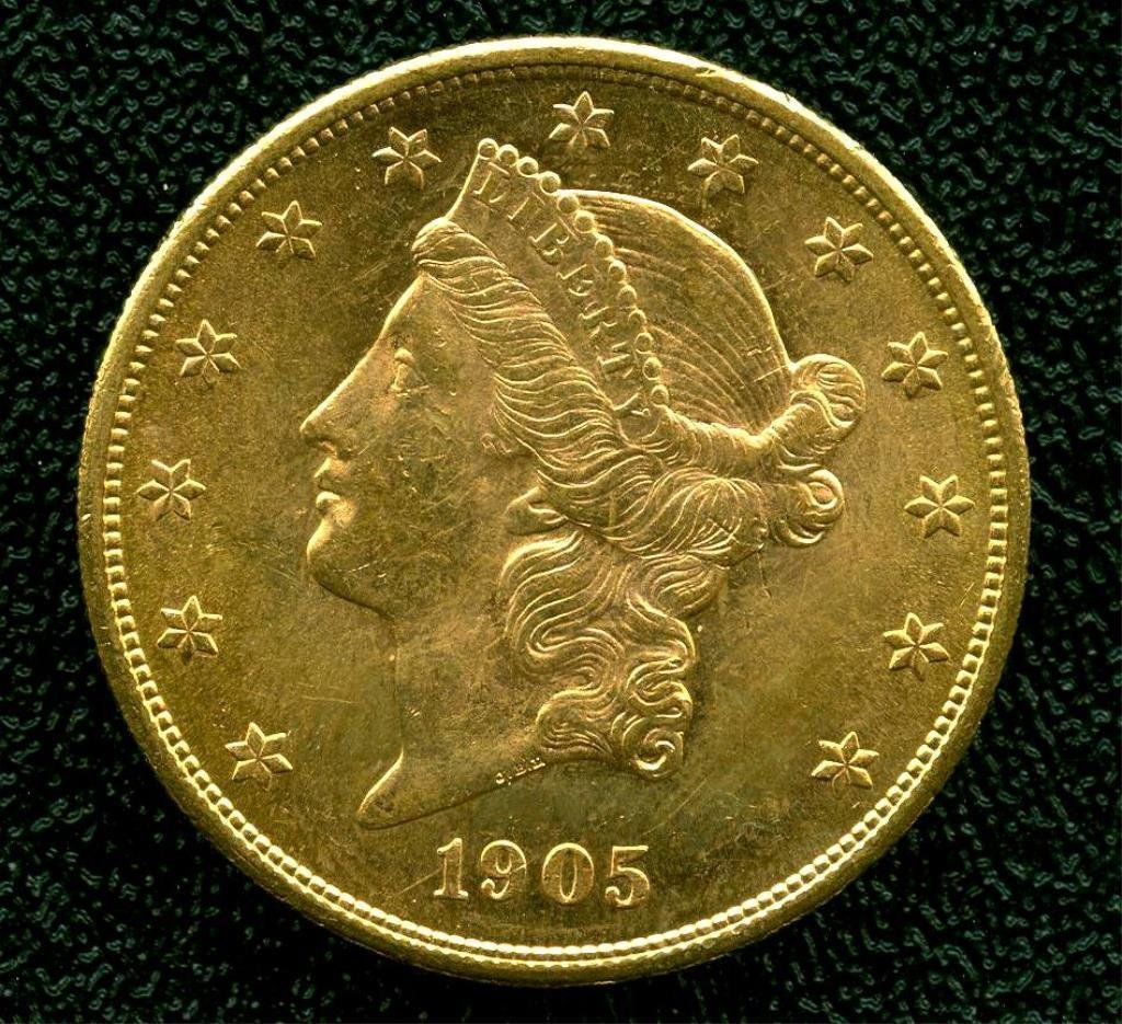 1905 S $ 20 Liberty Double Eagle Better Date