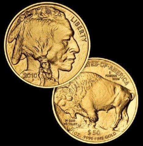 Random Date US Gold Buffalo 1 oz. 24k