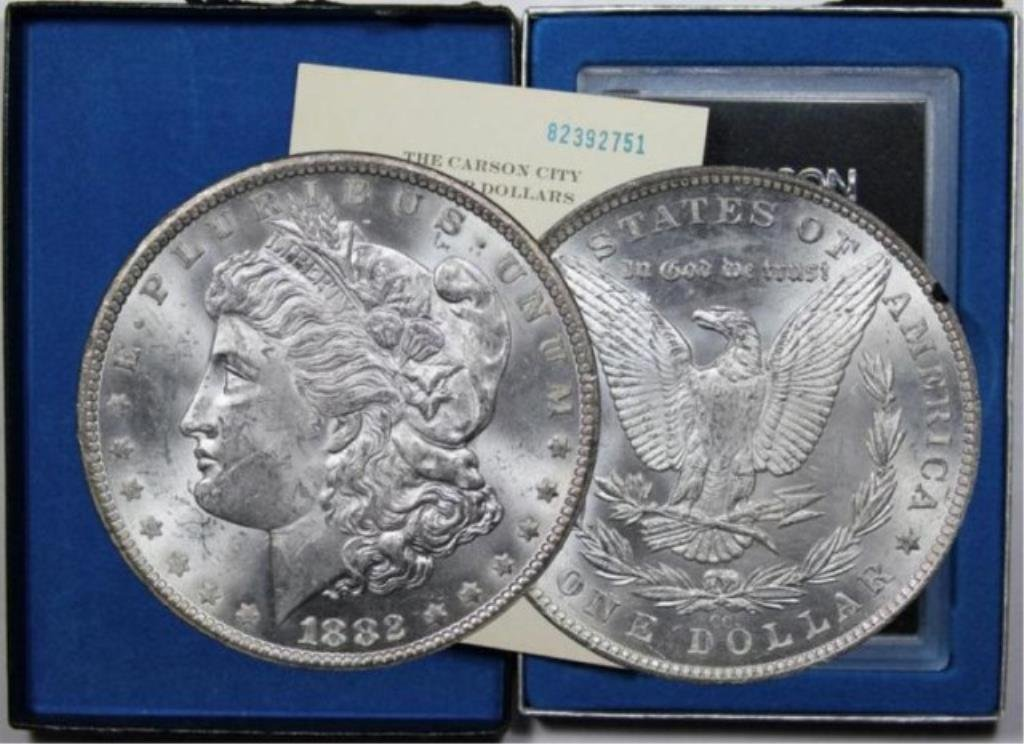 1882 Carson City GSA Morgan Dollar