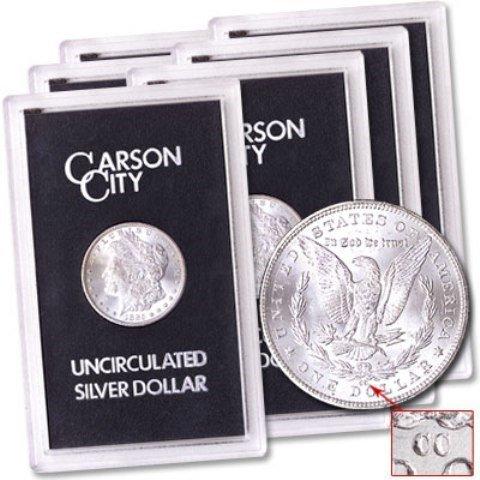 Lot of (6) CC GSA Morgan Dollars 1882-3-4 Random