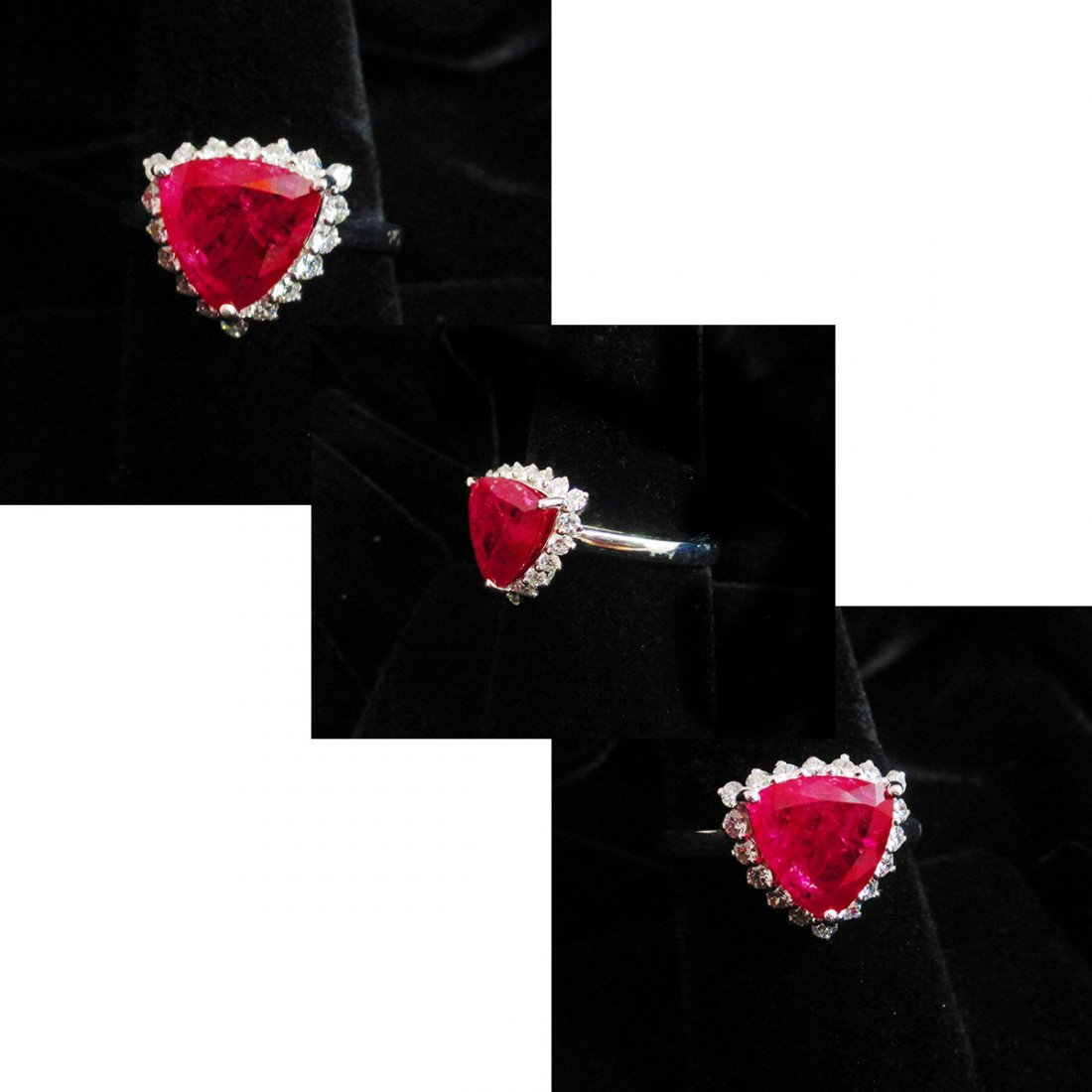 $15,795 UNHEATED NATURAL RUBY RING GIA Certified