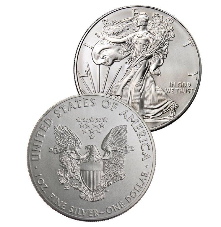 Random Date US Silver Eagle - 1 oz.