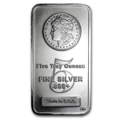Morgan Design Silver Bar 5 oz.