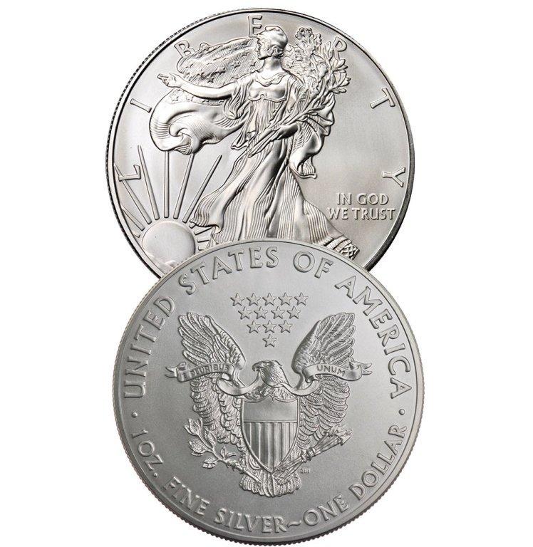 Random Date US Silver Eagle