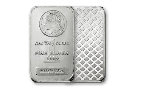 1 oz Morgan Design Silver Bar