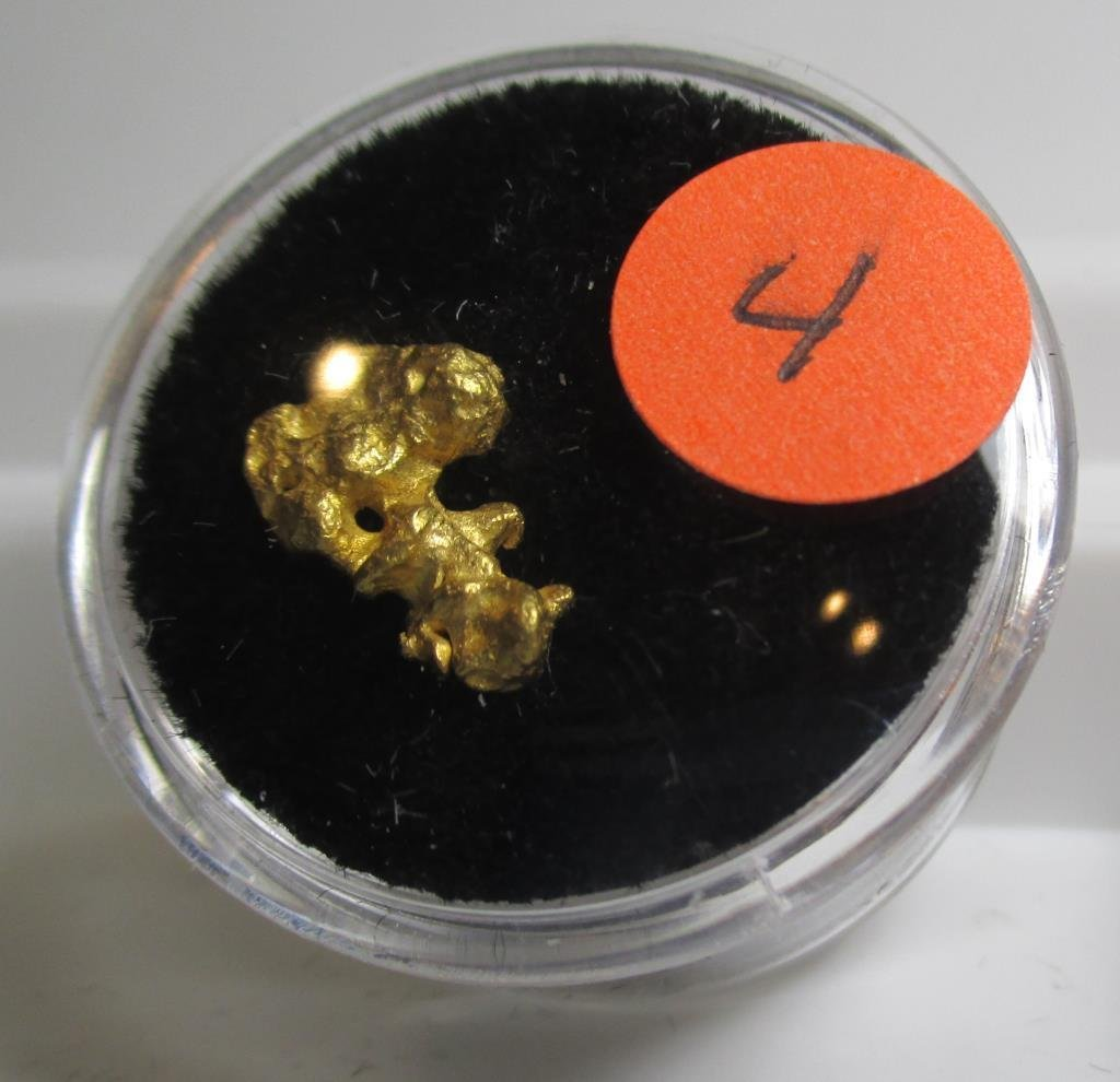1.48 gram Natural Earth Mined Gold Nugget