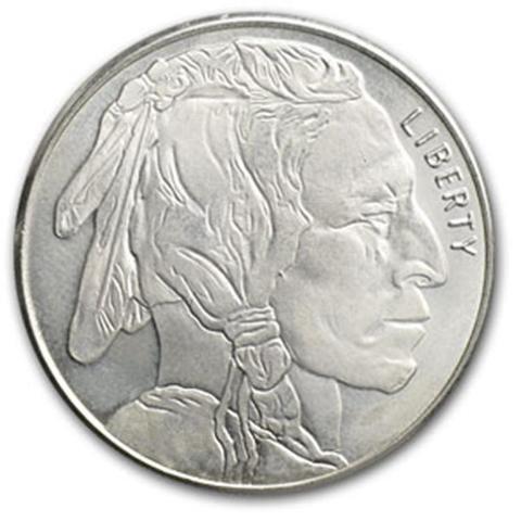 Silver Bullion Buffalo 1 oz.