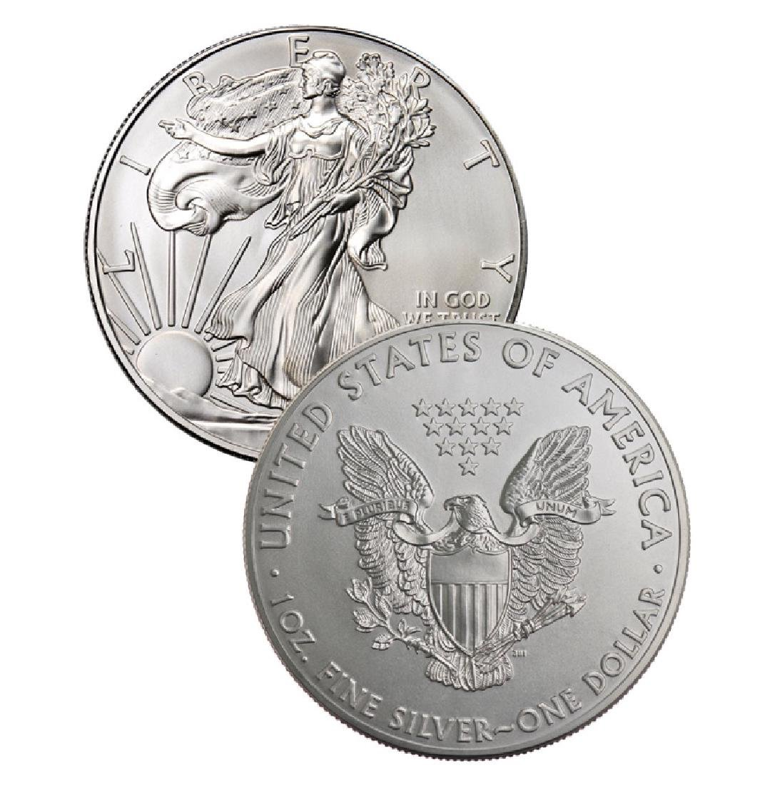 1 oz US Silver Eagle Random Date