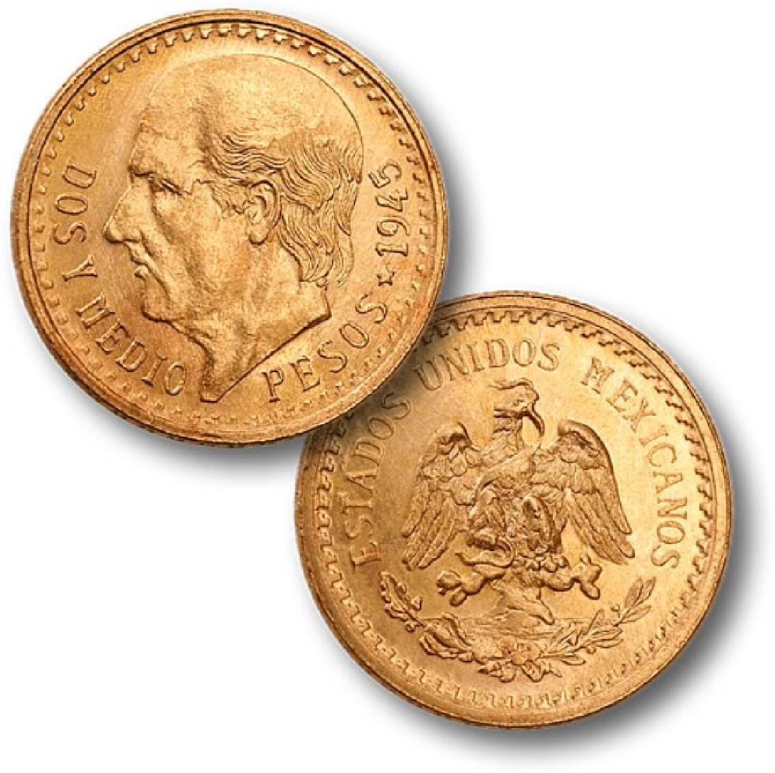 Stunning -1947 Mexican Gold 50 Peso