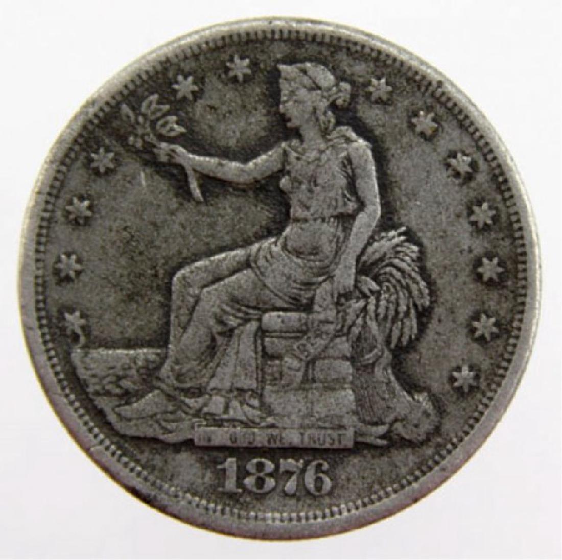 1876 US Trade Dollar RARE