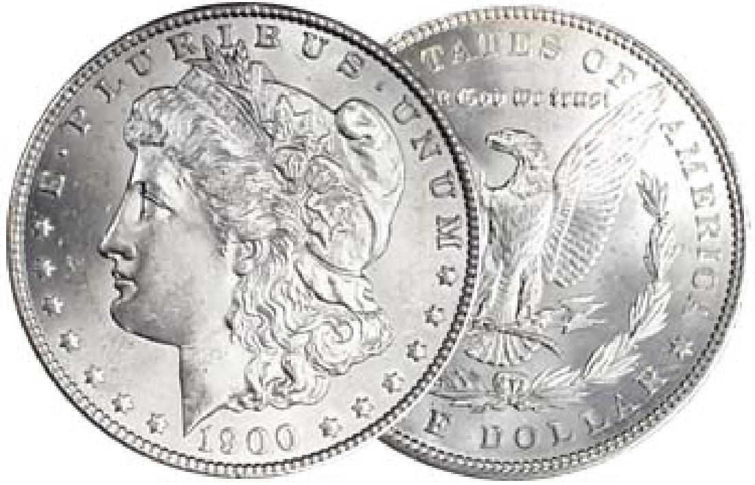 1900 P BU Morgan Silver Dollar