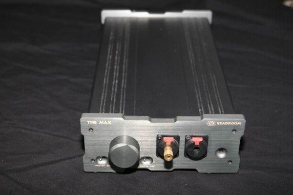 7700: HEADROOM THE MAX HEADPHONE AMPLIFIER