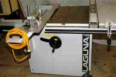 3635: PROFESSIONAL WOOD SHOP LAGUNA TOOL TSS SLIDING TA