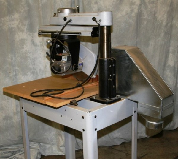 """3636: PROFESSIONAL DELTA PORTER CABLE 12"""" RADIAL ARM SA"""
