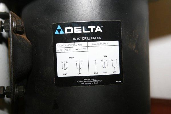 """3639: PROFESSIONAL DELTA PORTER CABLE 17"""" LASER DRILL P - 6"""