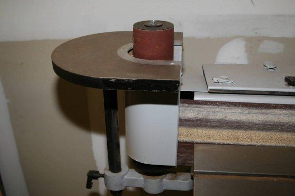 3644: DELTA PORTER CABLE OSCILLATING EDGE SANDER W SPIN - 4